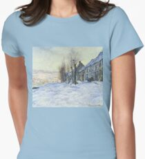 Lavencourt Sunshine and Snow Women's Fitted T-Shirt