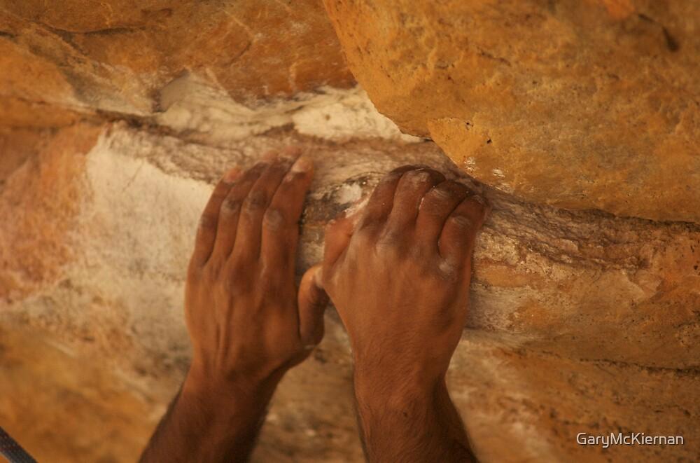 Climbers hands by GaryMcKiernan
