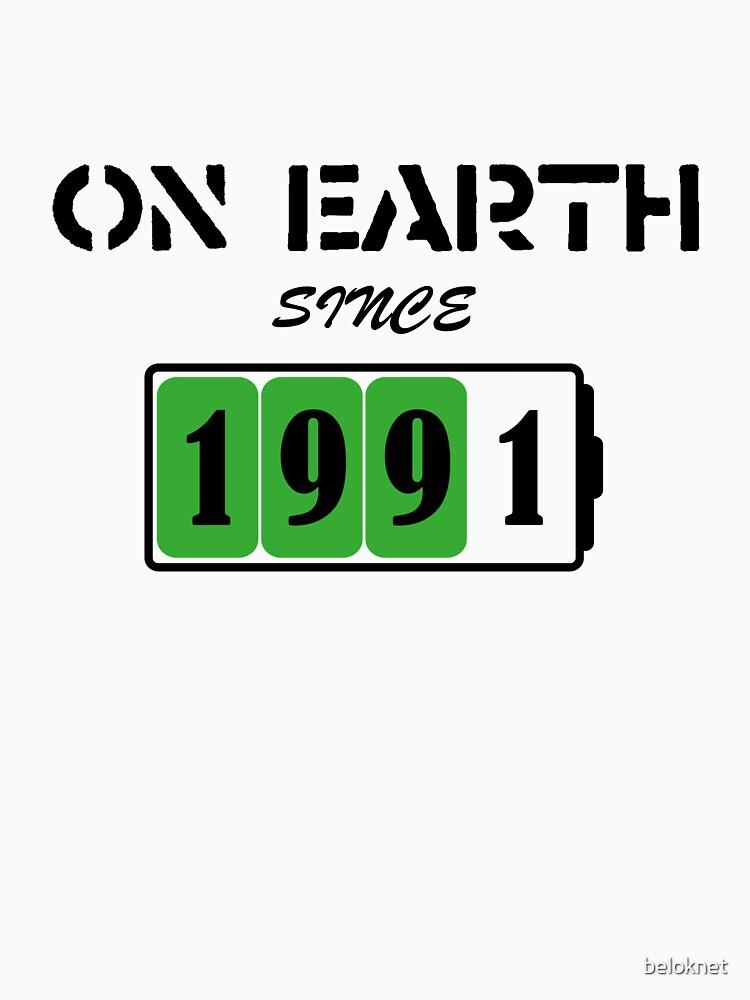 On Earth Since 1991 by beloknet