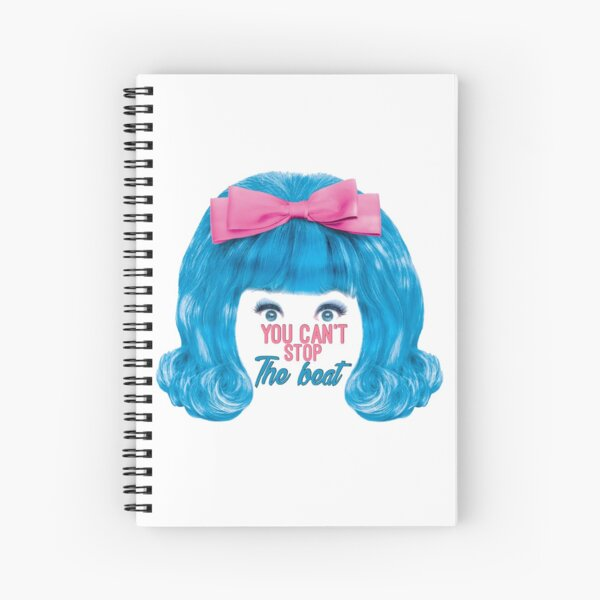 You Can't Stop The Beat. Spiral Notebook