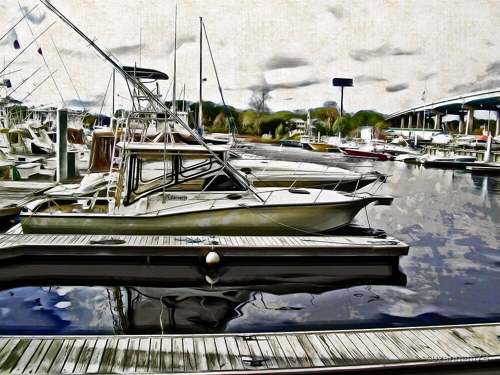 Morning at the Marina by suzannem73