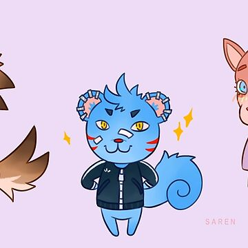 ACNL characters by SarenH