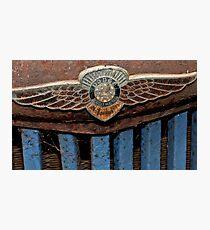 Old Dodge Truck Badge - Bridgetown, Western Australia Photographic Print