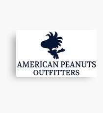 American Peanuts Outfitters Canvas Print