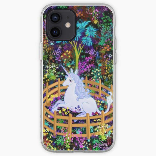 The Last Unicorn in Captivity iPhone Soft Case