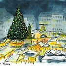Weihnachtsmarkt (Christmas Market) by Jens Notroff