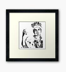 Moriarty Crown art  Framed Print