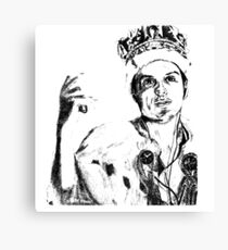 Moriarty Crown art  Canvas Print