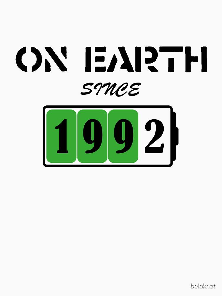 On Earth Since 1992 by beloknet