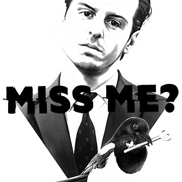 Miss Me? -Moriarty (Sherlock)  by Mojito10