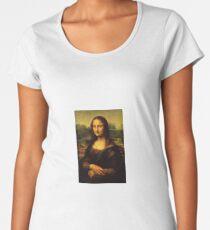 Mona Lisa Women's Premium T-Shirt