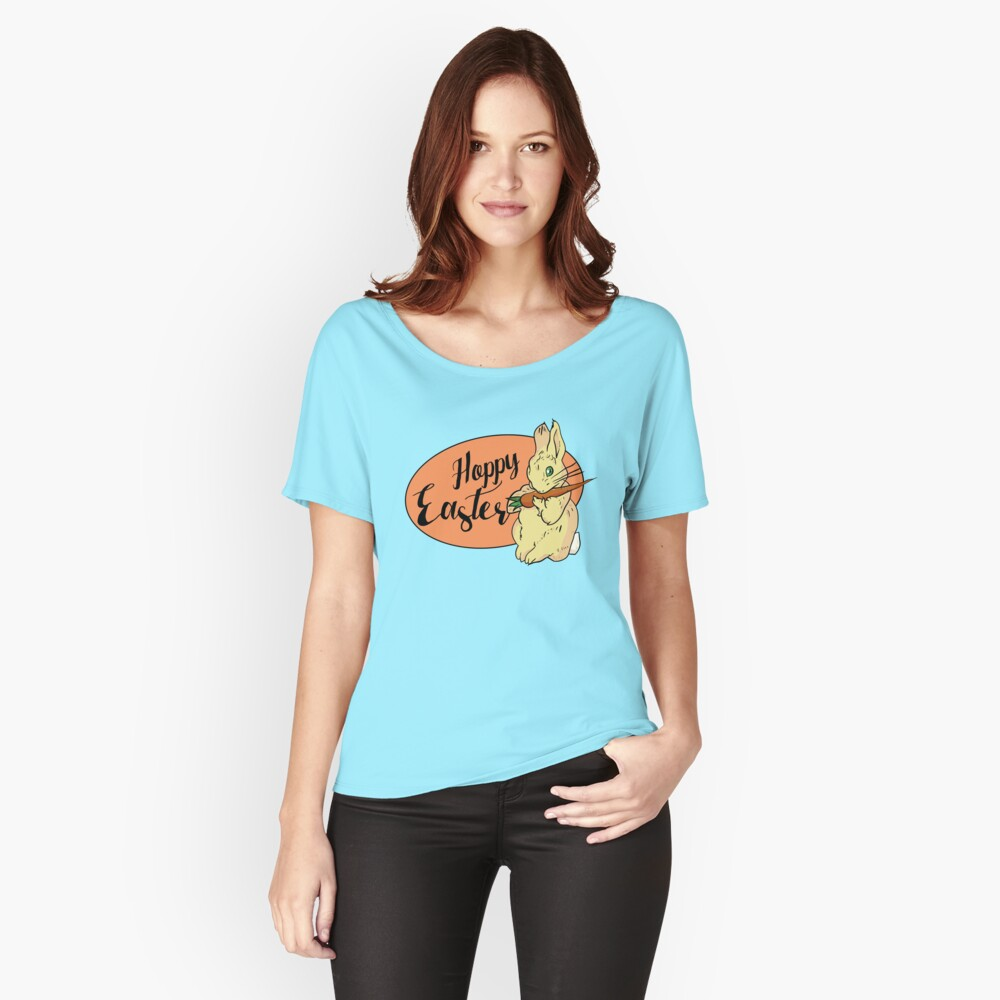 HOPPY easter Women's Relaxed Fit T-Shirt Front