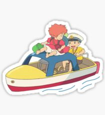 Ponyo And Sosuke Sticker