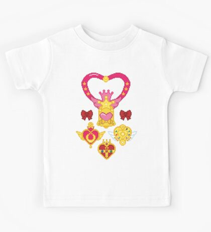 Pixel Brooches Kids Clothes