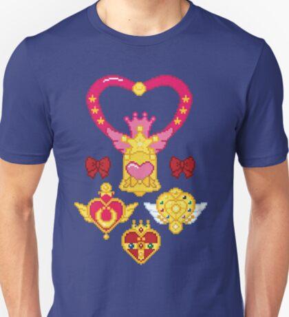 Pixel Brooches T-Shirt