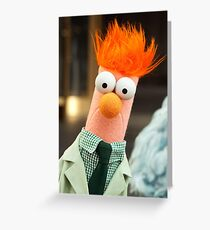 It's Beaker! Greeting Card