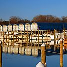 Boat Docks in Colonial ' by Clayton Bruster