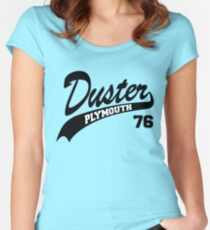 76 Plymouth Duster  Women's Fitted Scoop T-Shirt