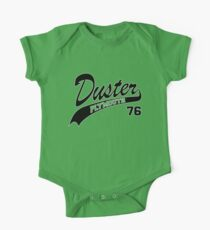 76 Plymouth Duster - White Outline Kids Clothes