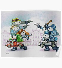 Cops & Robbers Poster