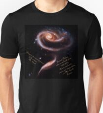 A Rose of Galaxies for Spock T-Shirt