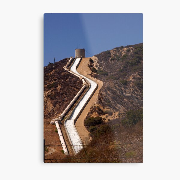 So Cal Water Way Metal Print