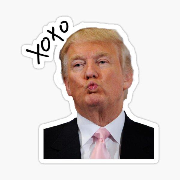 Embrasser Trump Sticker