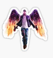Saints Row Gat Out Of Hell Sticker