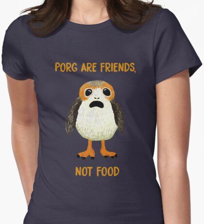 Porg Are Friends Not Food T-Shirt