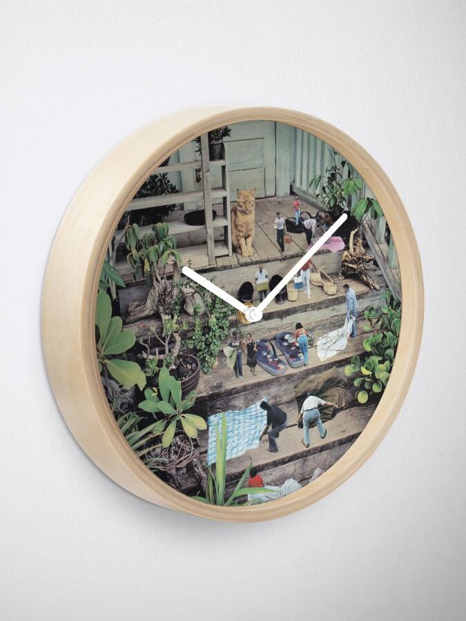Alternate view of Big cat Clock