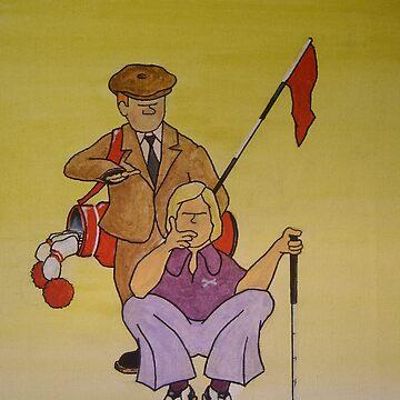 Golf Advice Cartoon by greve