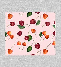 Blush cherries Kids Pullover Hoodie