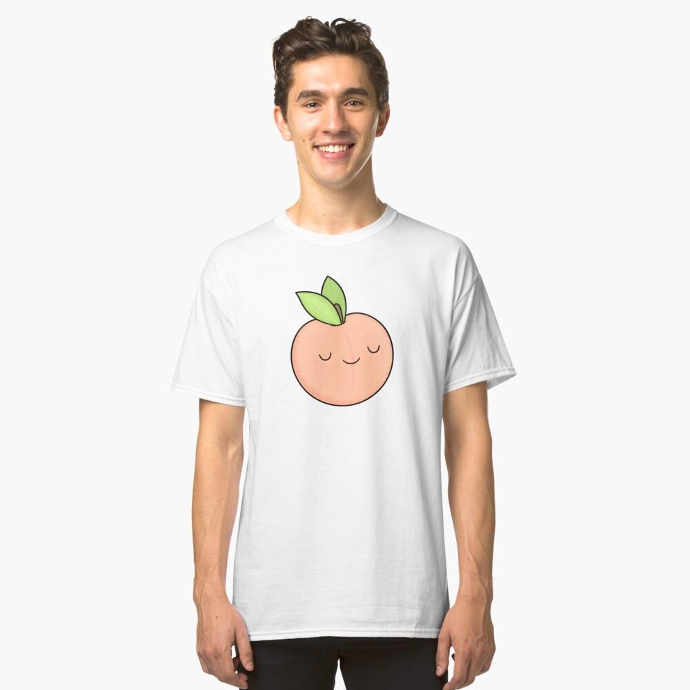 Happy Peach Classic T-Shirt