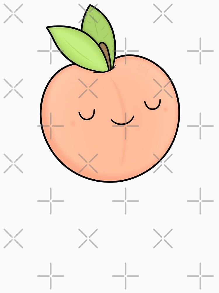Happy Peach by kimvervuurt