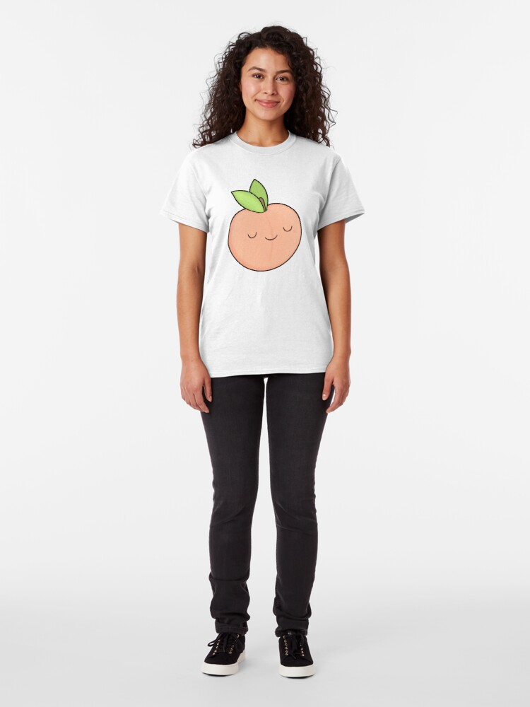 Alternate view of Happy Peach Classic T-Shirt
