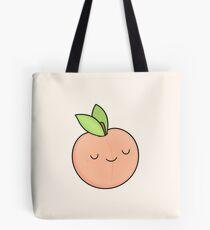 Happy Peach Tote Bag