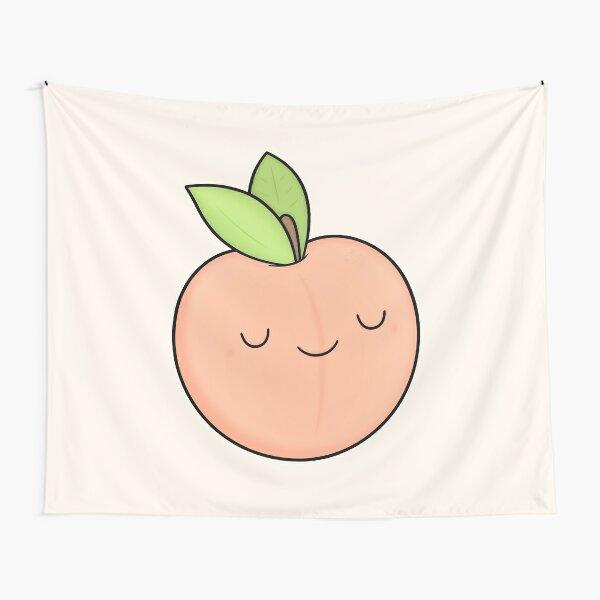 Happy Peach Tapestry