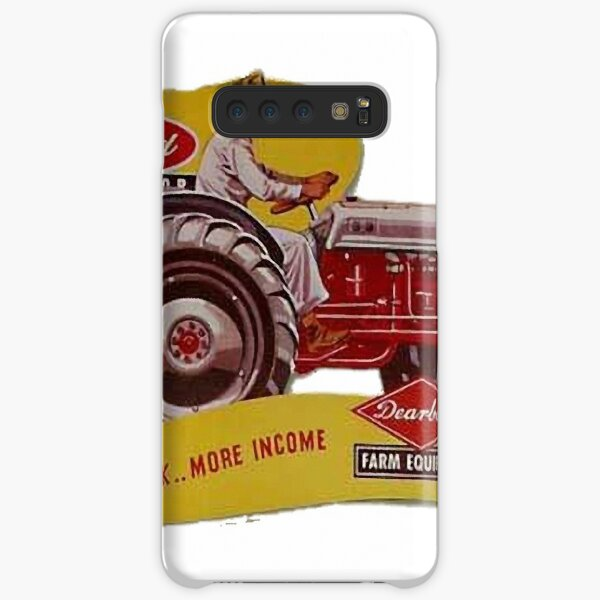 Ford Tractor Vintage Advert - Less work More Income Samsung Galaxy Snap Case