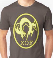 XOF logo- yellow Unisex T-Shirt