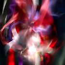 Cat Dragon Rose by Nick Huggins