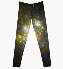 I Choose You [Pikachu Galaxy]  | Fractal Art by Douglas Fresh Leggings