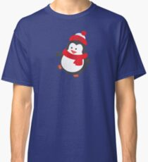 Cute Penguin on Ice Skates Classic T-Shirt
