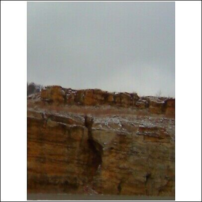 rock outcrop by joedog
