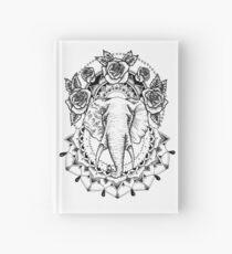 Blumen-Elefant-Mandala Notizbuch