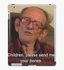 Send Us Your Bones iPad Case/Skin