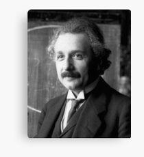 Albert Einstein Portrait  Canvas Print