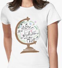 Floral globe T-Shirt