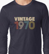 Vintage 1970 - 48th Birthday Long Sleeve T-Shirt