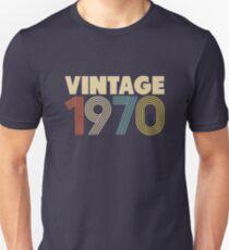 Vintage 1970 - 48th Birthday Slim Fit T-Shirt