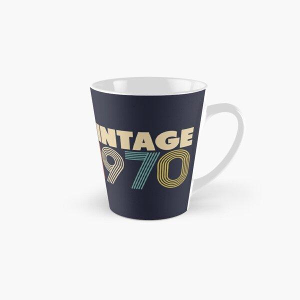 Vintage 1970 - 48th Birthday Tall Mug